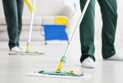 hiring the cleaning service